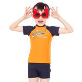 ★奧可那★ 韻動兩件式橘色泳衣