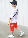 男童夏裝套裝2019新款洋氣帥氣兒童夏季中大童夏款潮牌街舞韓版潮 嬌糖小屋