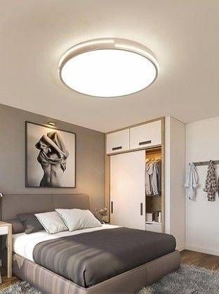 免運 壹朵led吸頂燈臥室燈北歐簡約現代大氣家用圓形創意房間客廳燈具
