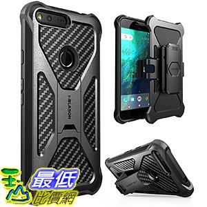 [美國直購] i-Blason 立架式 黑色 Google Pixel XL Case (5.5吋) Case [Kickstand] 手機殼 保護殼 _O71