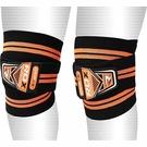 【線上體育】健身 護膝 黑/橘色 NEW RDX028