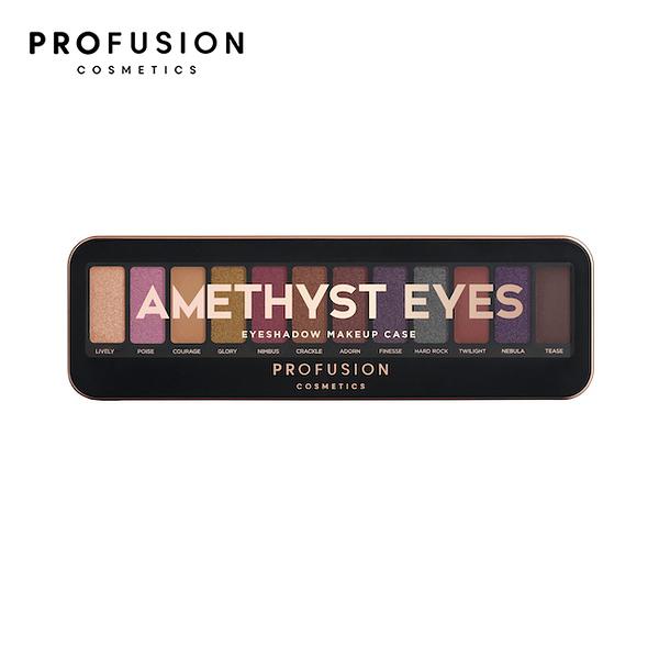 PROFUSION 12色眼影盤-紫色碎鑽盤 10.2g