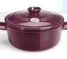 [COSCO代購] C107572 EMILE HENRY 24公分圓形燉鍋 容量4公升