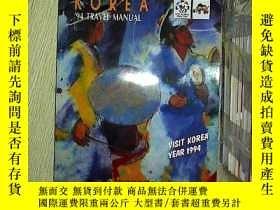 二手書博民逛書店KOREA罕見 94 TRAVEL MANUALY203004