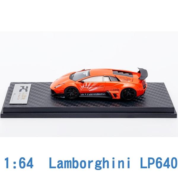 Scale Box 1/64 模型車 Lamborghini 藍寶堅尼 LP640 SB640001I 橘色