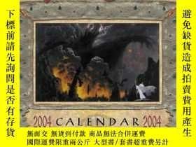 二手書博民逛書店Tolkien罕見Calendar 2004Y255562 Ted Nasmith Harpercollins