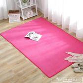 夏季茶幾地毯客廳家用長方形墊子臥室耐臟床邊地墊榻榻米igo『韓女王』