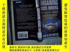 二手書博民逛書店BARGAINING罕見ACROSS BORDERS (01)