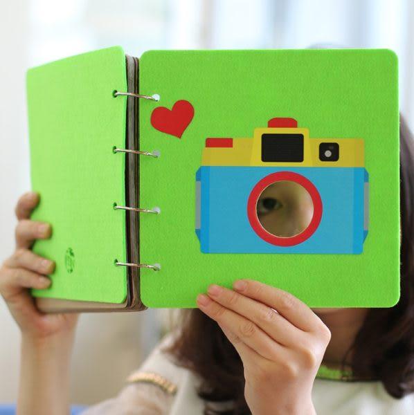 Baibaicamera 綠色相機 羊毛氈 筆記本 相片 拍立得相本 相簿 另售 拍立得底片 手帳 Mini25 mini8 sp-1 mini90