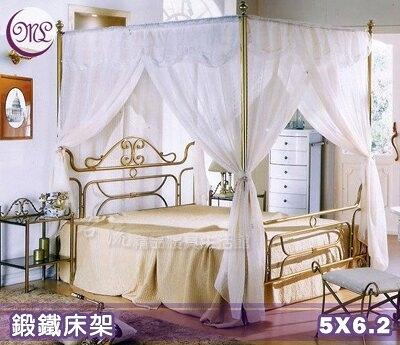 【Jenny Silk名床】承襲歐洲鍛造工藝床架.呈現新古典美學.M057T.標準雙人.運費另計