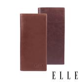 背包族【ELLE HOMME】經典長夾/ 皮夾/ 男夾(深咖啡色、淺咖啡色)
