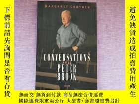 二手書博民逛書店CONVERSATIONS罕見AVEC PETER BROOK