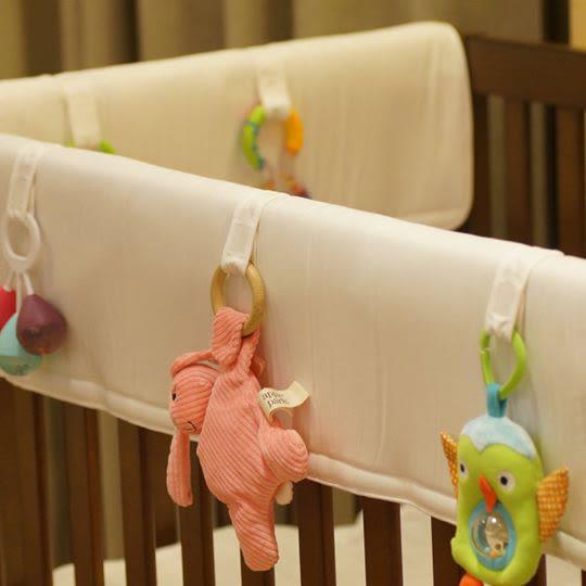 【愛吾兒】Lori's 固齒防護嬰兒床欄包 短邊款 : 75cm x 48cm