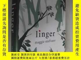 二手書博民逛書店英文原版罕見Linger by Maggie Stiefvate