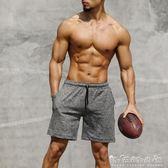 運動短褲運動短褲男士跑步健身速干薄款休閒夏季寬鬆訓練籃球沙灘中五分褲 晴天時尚館