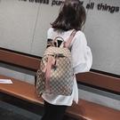 後背包 雙肩包女包2021新款韓版書包百搭時尚斜挎包大容量旅行包單肩背包