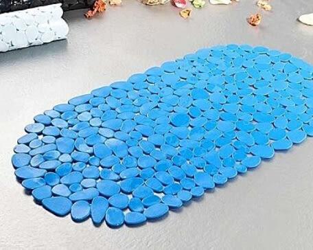 鵝卵石防滑墊 加厚浴室墊【藍星居家】