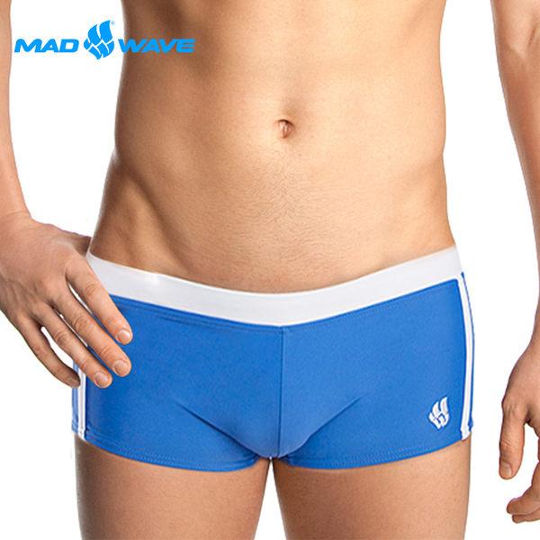 俄羅斯MADWAVE成人短四角泳褲 ADS-買就送Barracuda矽膠耳塞