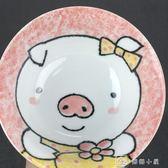 情侶碗日本進口卡通面碗一對日式和風陶瓷器家用飯碗 全館單件9折
