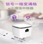 WiFi增強器 強信號家用穿墻無縫漫游網絡AP轉有線擴展傳輸大功率接收路由WiFi發射『夏茉生活』