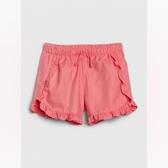 Gap女童甜美風格鬆緊腰短褲540061-亮粉色