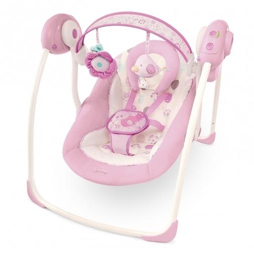 [ 家事達 ] HB KIds II-BS-攜帶式安撫搖床-粉紅系列  特價 嬰兒床