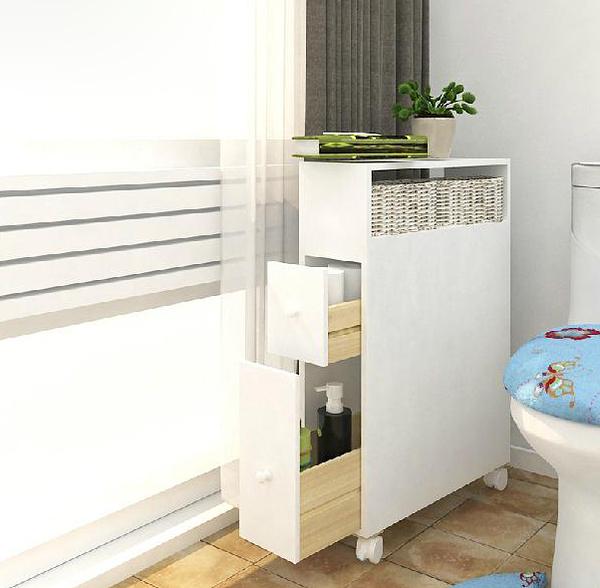【麗室衛浴】發泡板移動儲物櫃 浴室小空間置物櫃 防潮落地收納櫃 LS-021