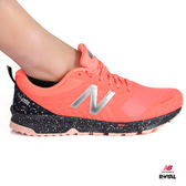 New Balance 新竹皇家 FuelCore 螢光橘/黑色  網布  輕量 休閒運動鞋 女款 NO.I8888
