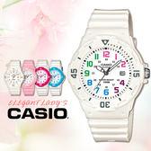 CASIO手錶專賣店 卡西歐 LRW-200H-7B 兒童錶  運動 防水100米 膠質錶帶 可旋轉錶圈 日期顯示