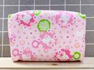【震撼精品百貨】Hello Kitty 凱蒂貓~Hello Kitty日本SANRIO三麗鷗KITTY化妝包/面紙包-櫻花粉*78296
