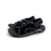 中童NIKE SUNRAY ADJUST 4 (GS/PS) 輕量運動涼鞋 《7+1童鞋》 E890 黑色