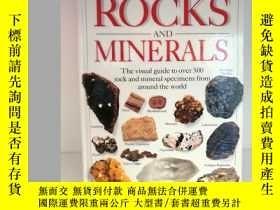 二手書博民逛書店DK罕見Rocks and Minerals Eyewitnes