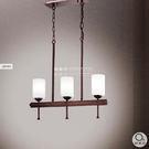 吊燈★簡約時尚 玻璃透光吊燈 3燈✦燈具燈飾專業首選✦歐曼尼✦