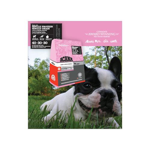 [寵樂子]《愛肯拿 Acana》單一蛋白低敏配方 - 美膚羊肉蘋果2kg / 狗飼料