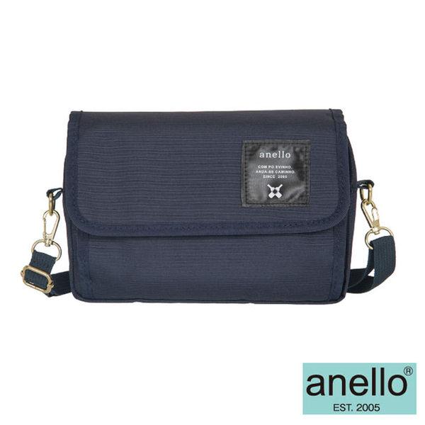 【anello日本銷售量NO.1】2WAY隨身側背包-深藍(AT-H0431NV)