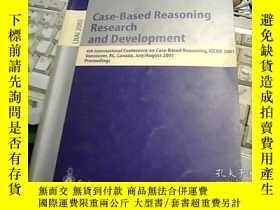 二手書博民逛書店Case-Based罕見Reasoning Research a
