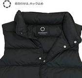 Nishikawa【日本代購】東京西川 男款羽絨背心 90%白鴨絨 SEVENDAYS- 黑色