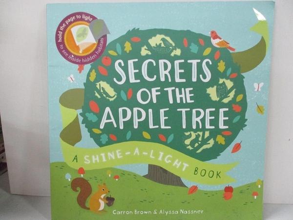 【書寶二手書T5/少年童書_D8J】Secrets of the Apple Tree (Shine-A-Light)_Carron Brown,Alyssa Nassner