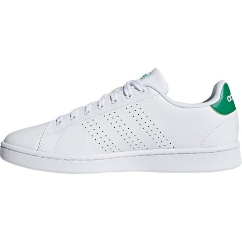 Adidas ADVANTAGE 白綠休閒運動鞋-NO.F36424
