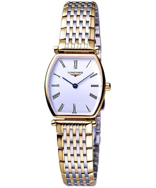 LONGINES 浪琴 嘉嵐酒桶型超薄腕錶/手錶 L47052117