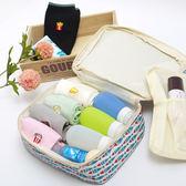 韓國 俏皮 多圖樣 可愛印花 收納包 隨身包 手提包 化妝包 盥洗包 洗漱包《生活美學》