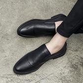 防臭男士商務休閒小皮鞋男 英倫正裝男鞋子