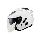 【東門城】KYT DJ 素色(白) 半罩式安全帽 雙鏡片