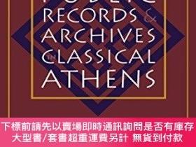 二手書博民逛書店Public罕見Records And Archives In Classical AthensY255174