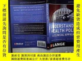 二手書博民逛書店Understanding罕見Health Policy A C