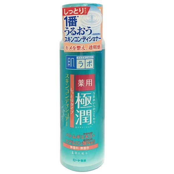 【日本 ROHTO】 肌研 極潤 健康化妝水 和漢植物調理 170ml 現貨
