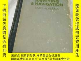 二手書博民逛書店ELECTRONIC罕見SURVEYING NAVIGATION