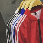 2018正韓男士薄款休閒夾克衫青年學生修身立領防曬衣棒球服外套潮