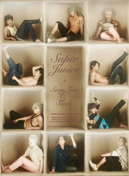 SUPER JUNIOR Sexy, Free
