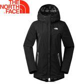 【The North Face 美國 女款 防撥水保暖外套 《黑》】3672/透氣/風衣/保暖★滿額送
